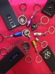 Chaveiros: roda, câmbio , biela, Audi, Ford, Volkswagen , Mercedes Benz, ...