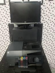 Título do anúncio: Computador e empressora