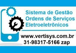 Sistema de Gestão de Ordens de Serviços para Eletroeletrônicos - Aparelhos em Geral