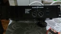 Amplificador som profissional