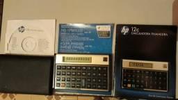 Calculadora Financeira HP 12C Gold Semi-Nova