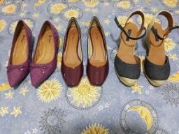 Sapatos femininos tamanho 37 novo