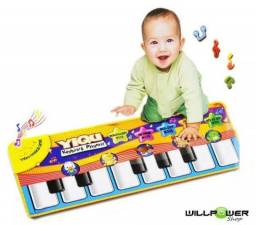 Tapete Musical Piano Infantil 0 A 36 Meses