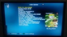 Ps2 com 15 jogos via pen drive