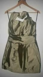 Belíssimo vestido de festa, usado 1x!!