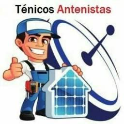 Instalador de antenas e receptores em geral - Antenista