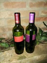 Vendo/troco garrafa de vinho vazia
