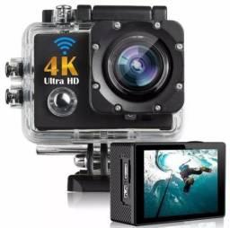 Câmera Esporte Capacete Mergulho 4k Action CAM WiFi Gearbest A Melhor do Mercado!!