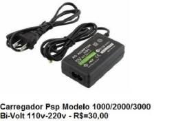 Fonte Carregador de Psp Bi volt 110-220v
