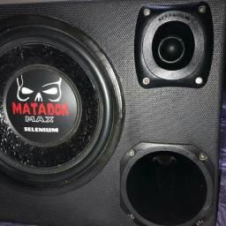Caixa de Som Trio Selenium Matador Max