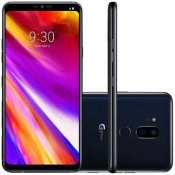 """Smartphone LG G7 ThinQ 64GB Lte Dual Sim Tela 6.1"""" Câm.16MP/16MP+8MP-Preto"""