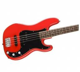 Baixo Fender Squier Affinity PJ. Bass LR RacingRed