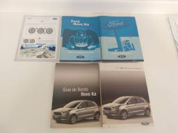 Jogo original de manual completo novo Ford Ka