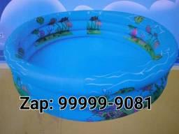 Piscina inflável 550 Litros várias cores valor de 150