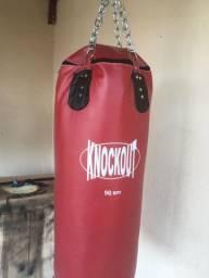 Saco de boxe knockout