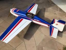 Vendo aeromodelo, radio e motor DA50