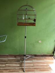 Gaiola n5 luxo com pedestal de gaiola