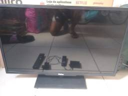 "Tv de LED 32"" com tv box"