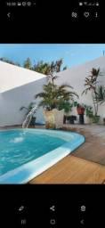 Casa com piscina em xareu diária , leiam toda a descrição por favor.