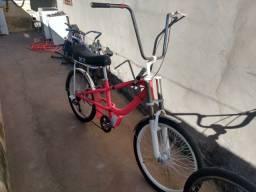 Bicicleta chopper personalizada