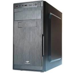 Gabinete C3 Tech Preto Micro-ATX c/ Fonte 200W - MT-23V2-BK