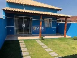 SKV- Casa com 2 quartos, em construção a 400m da rodovia em Unamar