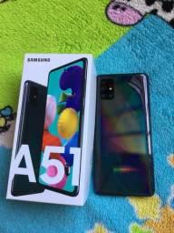 Samsung A51 novo na caixa sem marca de uso