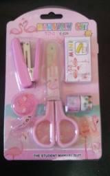3 Kits Flamingo Rosa