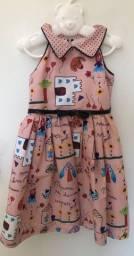 Vestido infantil marca Anjo D?água
