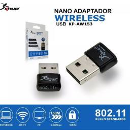 Adaptador Wireless Usb Knup Kp-aw153 Nano 150mbps