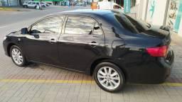 Toyota Corola ALTIS 2.0 ano 2011 automático interior caramelo com detalhes madeirados