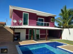 Casa com piscina com 03 quartos, piscina, área gourmet coberta, próximo a Havan