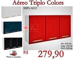 Aéreo Triplo Colors / Frete à consultar .