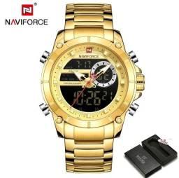 Título do anúncio: Relógio Naviforce modelo 9163 novo original
