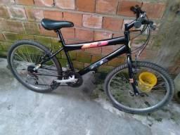 Vendo essa bicicleta aro 24 valor 230 reais