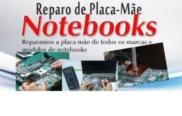 Especialistas em conserto de Placa mãe do seu notebook e PC