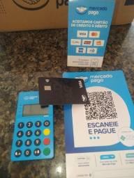 Título do anúncio: Máquina débito e crédito com aproximação e QR para Pix.