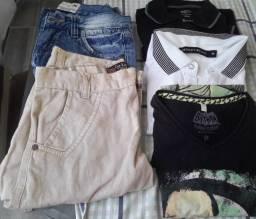 5 peças de roupas bem conservadas