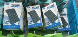Mini teclado usb numérico