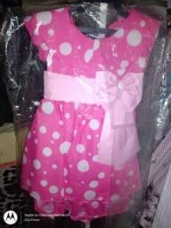 Vestido da miney rosa