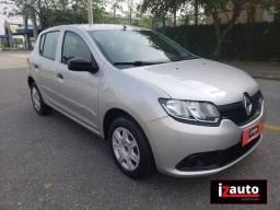 Título do anúncio: Renault SANDERO Authentique Flex 1.0 12V