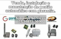 Título do anúncio: Instalação manutenção motor automático motor para portão automação