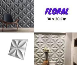 Formas Floral para Placas de Gesso 3d