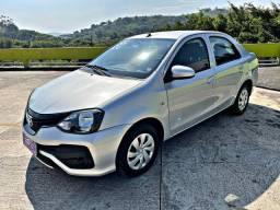 Etios sedan 1.5 automático, único dono!!!