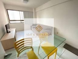Título do anúncio: Alugo apartamento Mobiliado em Boa Viagem - 40m² - Taxas já Inclusas.