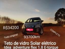 Idea adventure E-torque Teto de vidro Solar