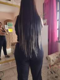 Coloco mega hair orgânico
