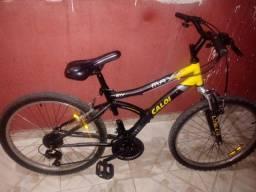 Bicicleta Caloi aro 24 21 marchas impecável