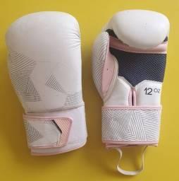 Torrooo Luvas de Boxe e Muay Thai Feminina 12 Oz