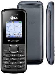 Celular simples LG B220 dual chip original na caixa  - Ideal para idosos ( novo )